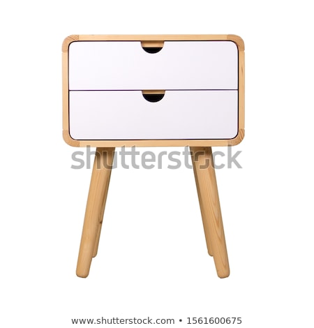 Bedside table isolated on white background Stock photo © ozaiachin