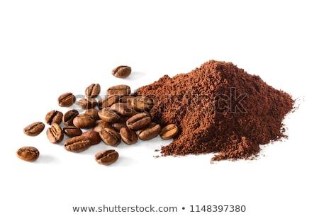 kávé · por · kávé · kép · néhány · ágy - stock fotó © Stootsy