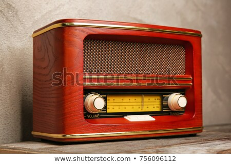 OldTransistor Radio Stock photo © 2tun