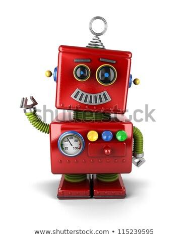 Surprised vintage robot Stock photo © creisinger