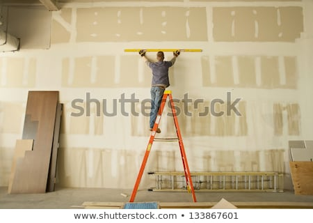 Man with plaster molding Stock photo © photography33