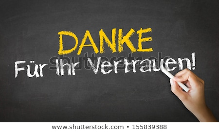 thank you for your support in german stock photo © kbuntu