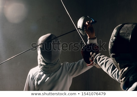 Fencing Sword Stock photo © hitdelight