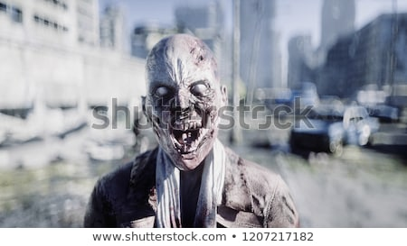 zombies by night   3d render stock photo © elenarts