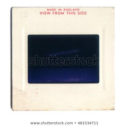 35 milímetros filme quadro apresentação plástico Foto stock © janaka