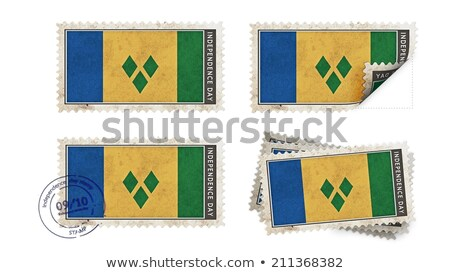 Post stamp from St. Vincent Stock photo © Taigi