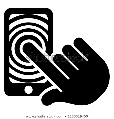 Hand displaying latest mobile handset Stock photo © stockyimages