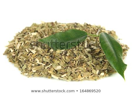 мат · листьев · чаши · древесины · лист - Сток-фото © photocreo
