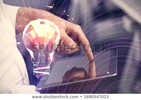 Bancario servicio frente vista alcancía Foto stock © Lightsource