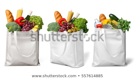 Canvas Tote Grocery Bag Stock photo © Istanbul2009