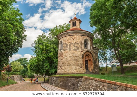 Rotunda of St Martin, Prague Stock photo © Sarkao