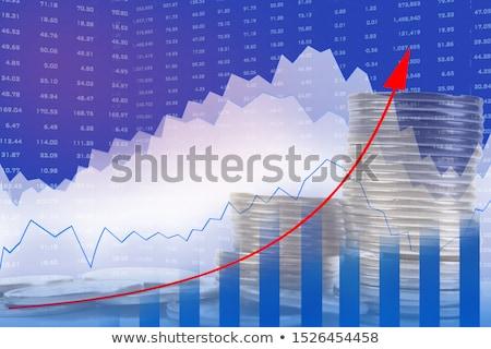 銀 グラフ コイン 孤立した 白 ビジネス ストックフォト © nilanewsom