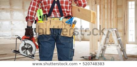 Handyman At Work Stock photo © barabasa