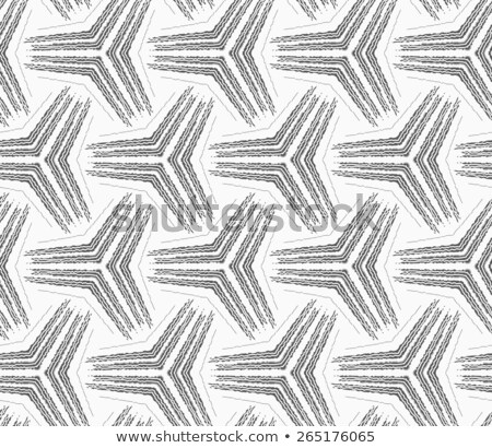Monochrome rough striped small tetrapods Stock photo © Zebra-Finch