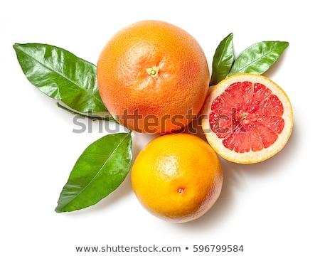 オレンジ グレープフルーツ 孤立した 食品 自然 緑 ストックフォト © ozaiachin