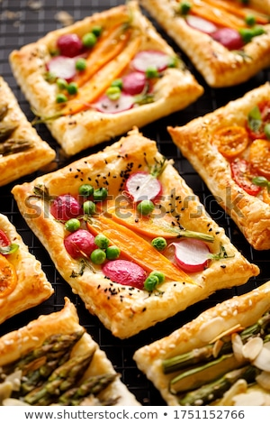 Puff Pastry Snacks Stock photo © zhekos