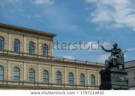 koning · München · straat · standbeeld · architectuur · Europa - stockfoto © mahout