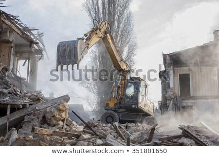 古い 建物 古い建物 ダウン 火災 遺跡 ストックフォト © rghenry