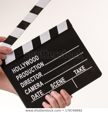 Jahrgang · Film · Fernsehen · Film · Kamera · Direktor - stock foto © jarin13