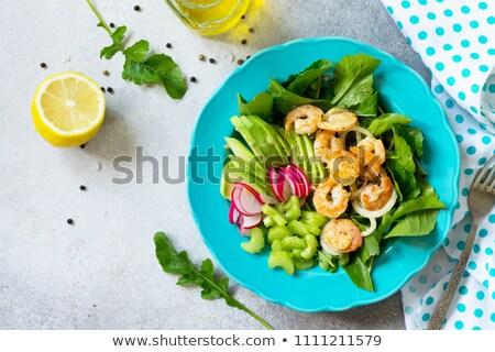 rucola and radish Stock photo © caimacanul