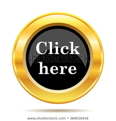 Download Here golden Vector Icon Design Stock photo © rizwanali3d