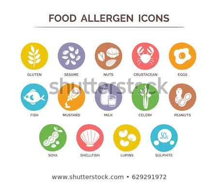 Gluten allergie symbole pain blé Photo stock © Lightsource