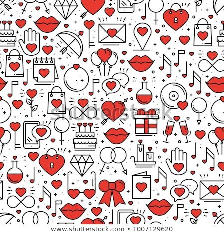 valentine themed ring stock photo © lenm