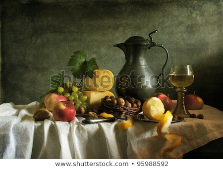 Dutch Cooking Still Life Stock photo © zhekos