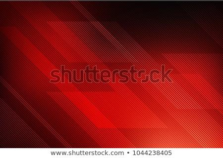 Dalgalar soyut kırmızı renkli yangın teknoloji Stok fotoğraf © cosveta