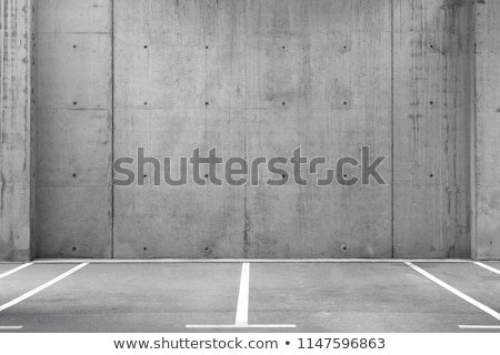 Photo stock: Vide · parking · modernes · rue · Night · City