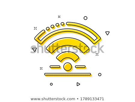 Wifi Service drahtlose Kommunikation mobile Breitband Verbindung Stock foto © Lightsource