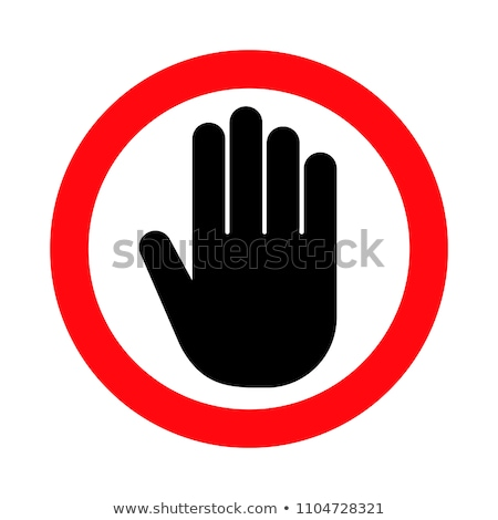 Limited Access Icon. Flat Design. Stock photo © WaD