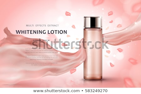 elegant floral silk background stock photo © olena