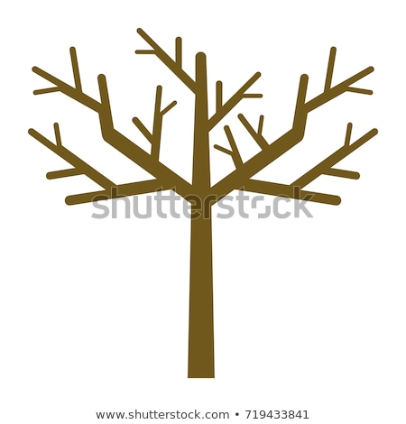 Bare Tree Flat Icon Stock photo © ahasoft