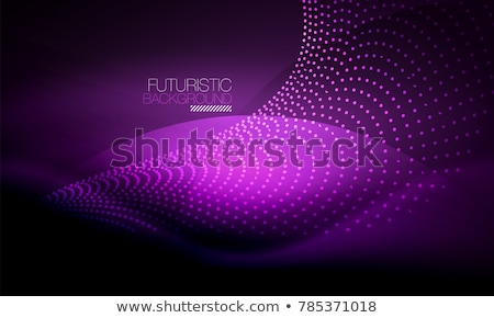 vibrant colroful background with particle effect Stock photo © SArts