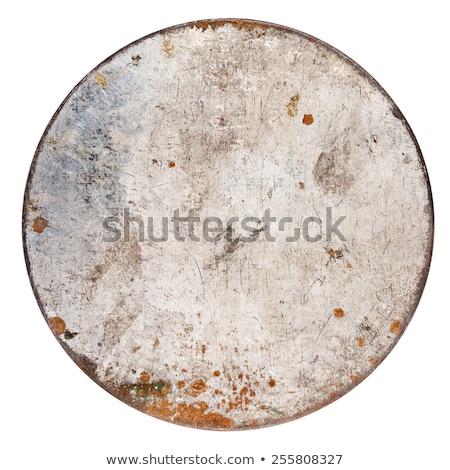 Rusty Metal Can Сток-фото © Taigi