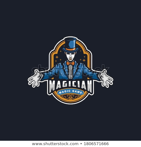 魔法 ショップ ロゴ ベクトル フォーマット 企業 ストックフォト © amanmana