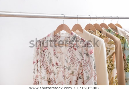 Stylish Summer Dress with Pockets and Buttons Stock photo © robuart