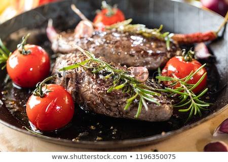 wijnstok · tomaten · schaal · knoflook · voedsel · groenten - stockfoto © barbaraneveu