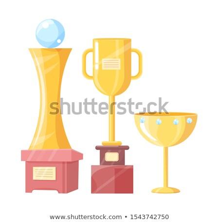 Victoria taza taza trofeo ilustración premio Foto stock © robuart