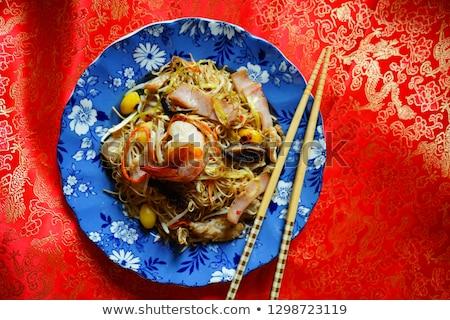 Boldog kínai új év ázsiai stílus szimbolikus vektor Stock fotó © robuart