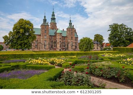 Palazzo Copenhagen castello Danimarca paese erba Foto d'archivio © borisb17