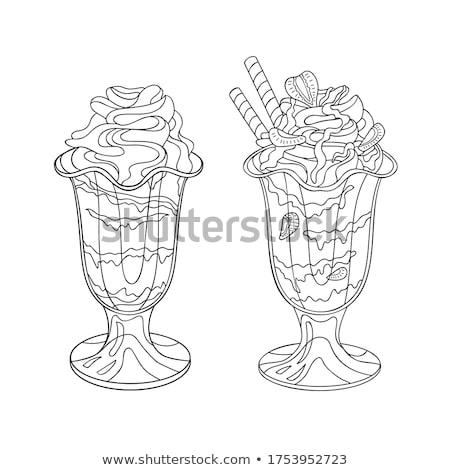 kek · ahududu · dizayn · doğum · günü · düğün · pastası · dilim - stok fotoğraf © pikepicture
