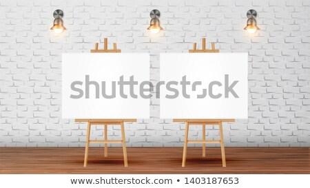 キャンバス 図面 ベクトル 木製 ストックフォト © pikepicture
