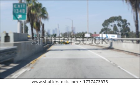 California znak autostrady wysoki graficzne Chmura Zdjęcia stock © kbuntu