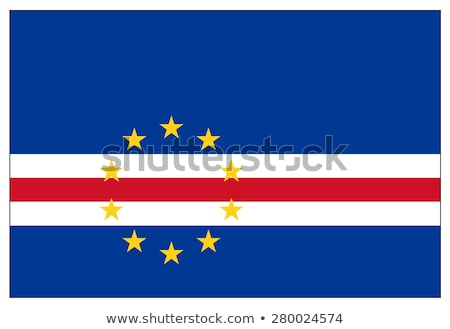 Cape Verde Flag Stock photo © HypnoCreative