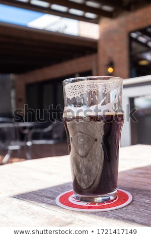 large beer goblet chilled stock photo © backyardproductions