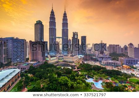 Kuala Lumpur at sunse Stock photo © joyr