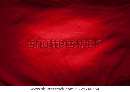 Czerwony elegancki tkaniny tle kolor sofa Zdjęcia stock © pinkblue