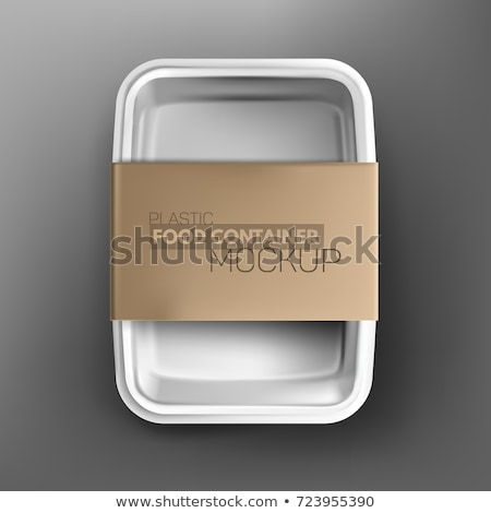 Tray Labels Stock photo © kitch